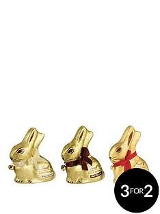 lindt-lindt-gold-bunny-3-x-200gm-milk-white-dark