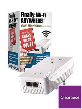 devolo-dlan-powerline-1200-wifi-ac-adaptor-white