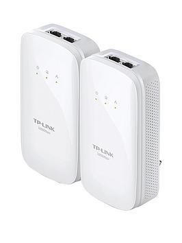 Tp Link TlPa7020Kit 1000Mbps Powerline Kit With 2 Lan Ports
