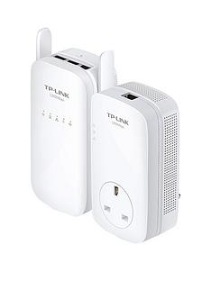 tp-link-tl-wpa8630pkit-1200mbps-powerline-with-passthrough-3-lan-ports-ac1200-wi-fi