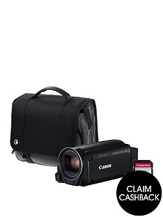 canon-legria-hf-r806-camcorder-kit-inc-32gb-sd-card-and-case-blacknbspsave-pound25-with-voucher-code-lxk3p