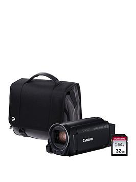 Canon Legria Hf R806 Camcorder Kit Inc 32Gb Sd Card And Case  Black