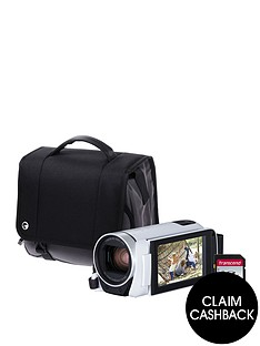 canon-legria-hf-r806-camcorder-kit-inc-32gb-sd-card-and-case-whitenbspsave-pound25-with-voucher-code-lxk3p