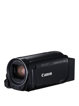 Canon Legria Hf R88 Wifi Camcorder Black Inc WideAngle Adapter