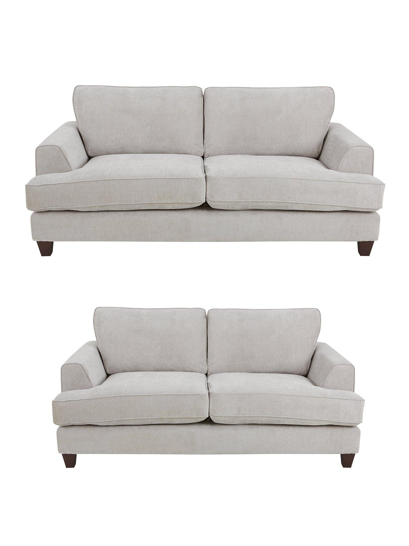 ideal home camden 3seater 2seater fabric sofa set buy and save