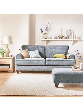 Ideal Home Camden 3 Seater Fabric Sofa