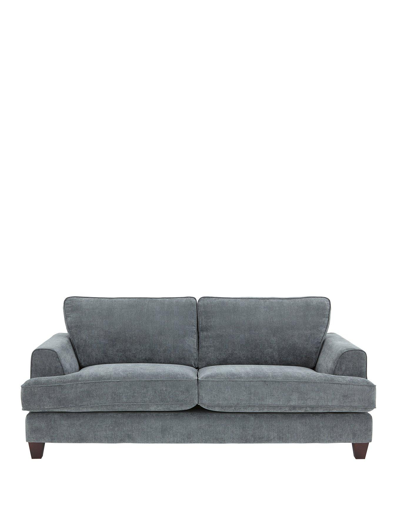 Ideal Home New Camden 3 Seater Fabric Sofa