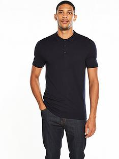v-by-very-short-sleeve-knitted-polo
