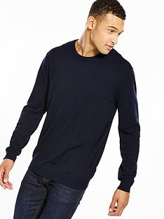 v-by-very-mens-crew-neck-jumper-navy
