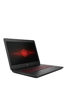 Hp Omen 17W200Na Intel&Reg Core&Trade I77700Hq 8Gb Ram 1Tb Hard Drive  128Gb Ssd 17.3 Inch Full Hd Pc Gaming Laptop With 8Gb Nvidia Gtx 1070 Graphics  Shadow Mesh