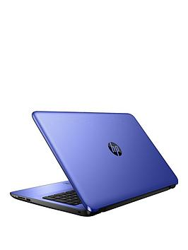 Hp 15Ay081Na Intel Celeron N3060 Processor 4Gb Ram 500Gb Hard Drive 15.6 Inch Laptop With Optional Microsoft Office 365 Home  Blue  Laptop With Microsoft Office 365 Home