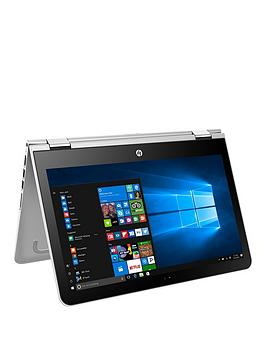 Hp Pavilion X360 13U103Na Intel&Reg Core&Trade I57200U Processor 8Gb Ram 128Gb Ssd 13.3 Inch Touchscreen 2In1 Laptop With Optional Microsoft Office 365 Home  Silver  Laptop Only