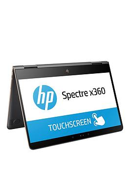 Hp Spectre X360 13Ac001Na Intel&Reg Core&Trade I57200U Processor 8Gb Ram 256Gb Ssd 13.3 Inch Full Hd Touchscreen 2In1 Laptop With Optional Microsoft Office 365 Home  Dark Ash Silver  Lapto