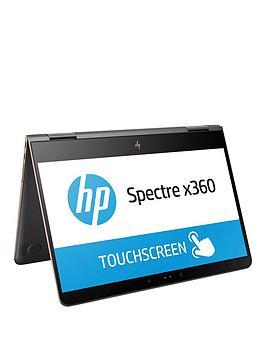 Hp Spectre X360 13Ac001Na Intel&Reg Core&Trade I57200U Processor 8Gb Ram 256Gb Ssd 13.3 Inch Full Hd Touchscreen 2In1 Laptop With Optional Microsoft Office 365 Home  Dark Ash Silver  Lapto