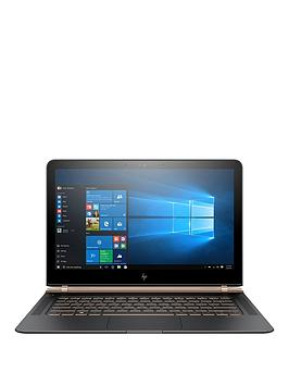Hp Spectre 13V102Na Intel&Reg Core&Trade I77500U Processor 8Gb Ram 512Gb Ssd 13.3 Inch Full Hd Laptop With Optional Microsoft Office 365 Home  Dark Ash Silver  Laptop With Microsoft Office 3