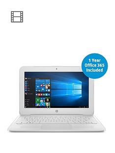 hp-stream-11-y003na-intelreg-celeronregnbspn3060nbspprocessor-2gbnbspram-32gbnbspstorage-116-inch-laptop-with-1-year-office-365-includednbsp--white