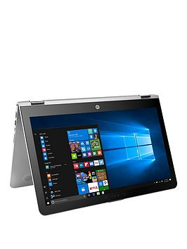 Hp Envy X360 15Aq100Na Intel&Reg Core&Trade I5 8Gb Ram 1Tb Hard Drive  Ssd 128Gb 15.6 Inch Full Hd Touchscreen 2In1 Laptop With Optional Microsoft Office 365 Home  Silver  Laptop With Micr