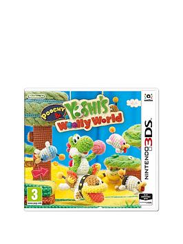 Nintendo 3Ds Poochy And Yoshi&039S Wooly World  3Ds