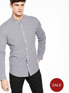 v-by-very-long-sleeved-gingham-shirt