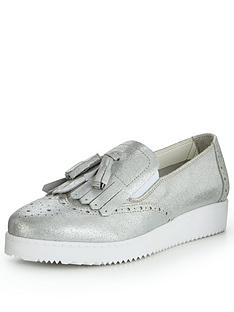 v-by-very-metallic-tassel-leather-loafer-silver