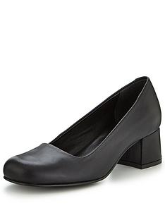 v-by-very-low-block-heel-leather-court-black