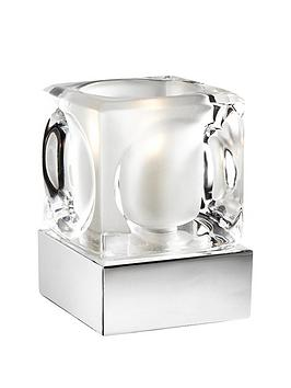 Ice cube touch table lamp littlewoods mozeypictures Gallery
