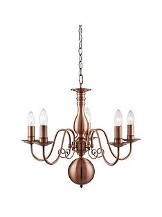orleans-5-light-antique-copper-chandelier