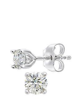Love DIAMOND Love Diamond 18Ct White Gold 50 Point Diamond Solitaire  ... Picture