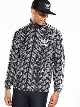 Adidas Originals Soccer Reversible Windbreaker  Black