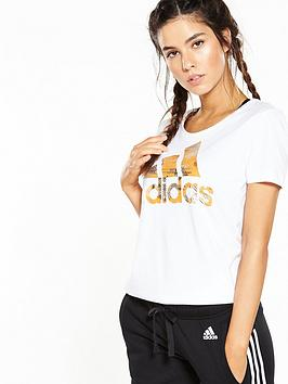 Adidas Foil Logo Tee