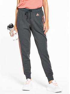 adidas-essentials-3-stripe-tapered-pant-dark-grey-heathernbsp