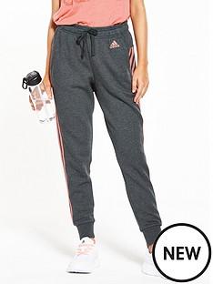 adidas-essentials-3-stripe-tapered-pant-dark-grey-heathernbsp
