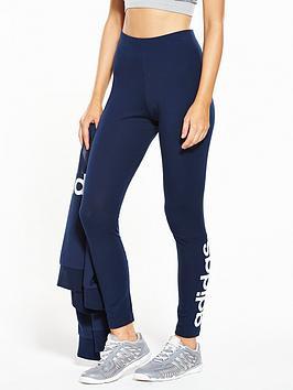 Adidas Essentials Linear Tight  Navy