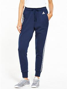 adidas-essentials-3-stripe-tapered-pant-navynbsp