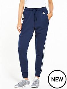 adidas-essentials-3-stripe-tapered-pant-navynbsp