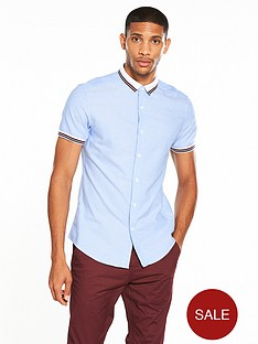 v-by-very-ribbed-collar-amp-cuff-short-sleeve-shirt