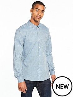 v-by-very-mens-long-sleeved-checkednbspshirtnbsp