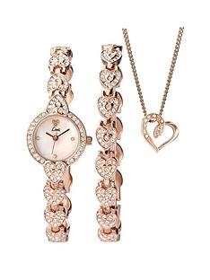 limit-limit-white-dial-stone-bracelet-watch-bracelet-amp-necklace-ladies-gift-set