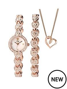 limit-limit-white-dial-stone-bracelet-watch-bracelet-amp-necklace-ladies-gift-set