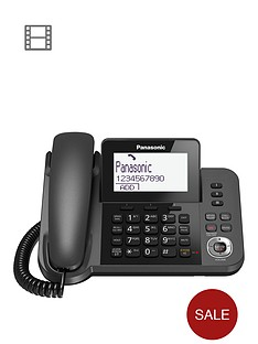 panasonic-kx-tgf320em-nbspdigital-answering-system-with-1-corded-handset-and-1-cordless-handset