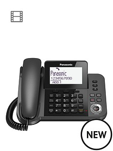 panasonic-panasonic-kx-tgf320em-nbspdigital-answering-system-with-1-corded-handset-and-1-cordless-handset