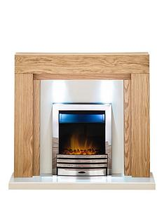 adam-fire-surrounds-beaumont-fireplace-suite-in-oak-with-eclipse-electric-fire-in-chrome