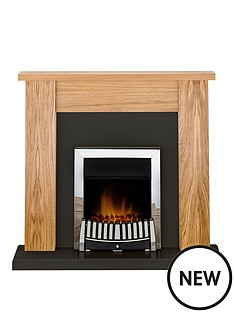 adam-fire-surrounds-new-england-fireplace-suite-in-oak-and-black-with-elise-electric-fire-in-chrome