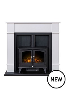 adam-fire-surrounds-oxford-stove-suite-in-pure-white-with-woodhouse-electric-stove