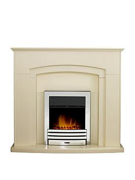 adam-fire-surrounds-falmouthnbspfireplace-suite-in-stone-effect-with-eclipse-electric-fire-in-chrome