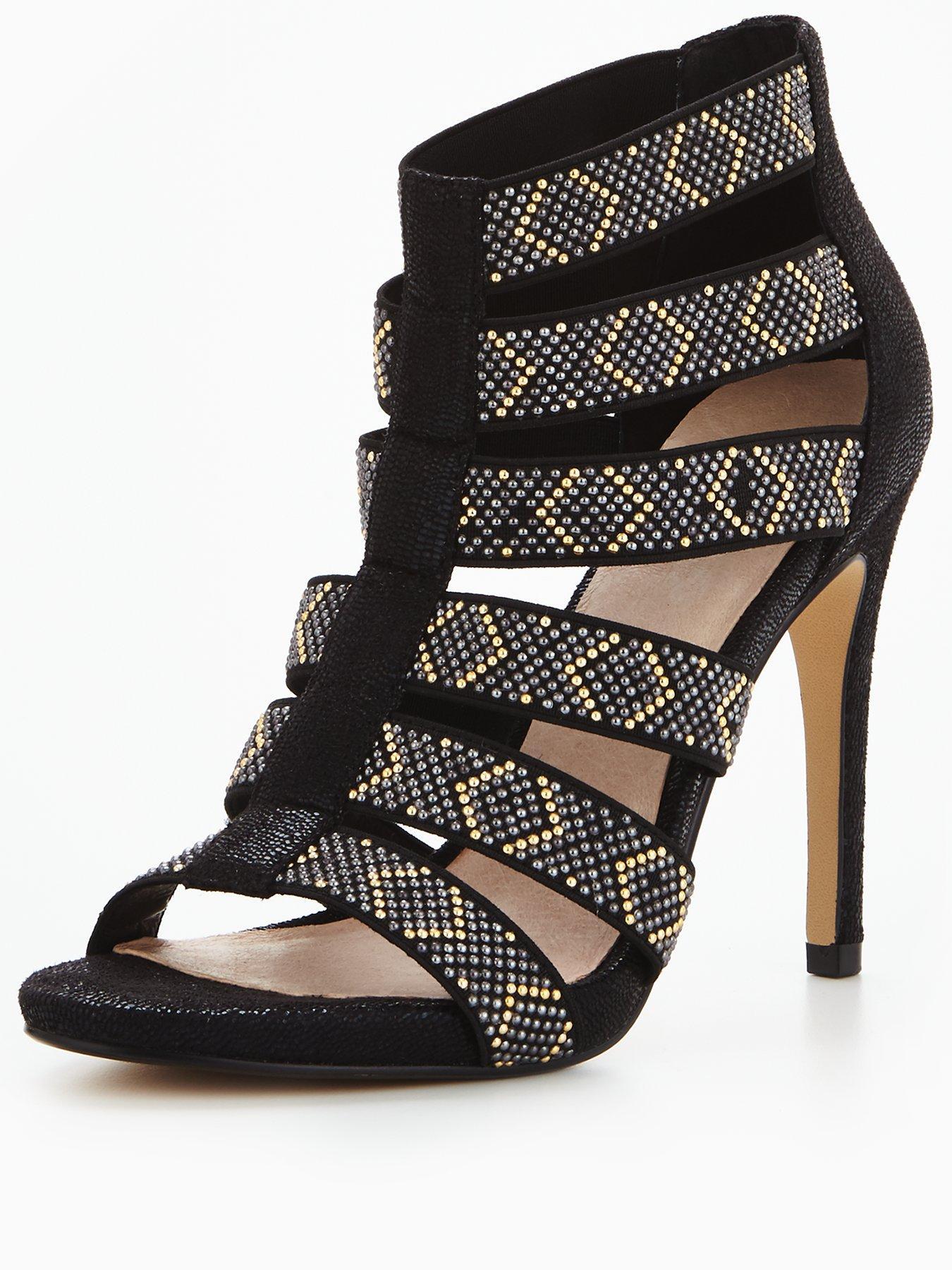 Moda In Pelle Moda in Pelle Simeon High studded elastic sandal 1600172961 Women's Shoes Moda In Pelle Heels