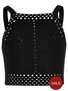 river-island-girls-black-crochet-sleeveless-crop-top