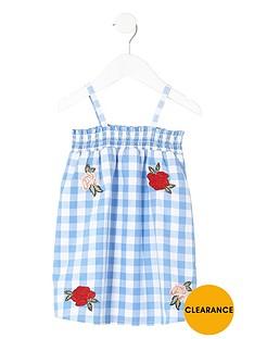 river-island-mini-girls-floral-gingham-trapeze-dress