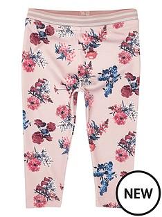 river-island-mini-pink-floral-legging