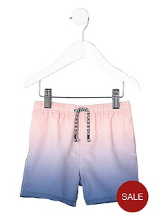 river-island-mini-boys-blue-dip-dye-swim-shorts